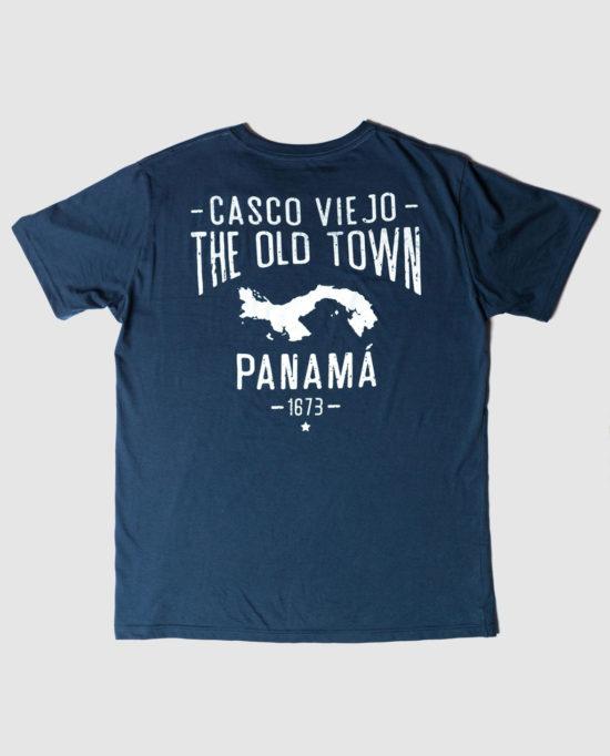 CASCO VIEJO OLD TOWN BLUE TEE