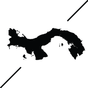 Joe Panama Cross Map Logo